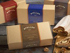 packaging stollen caja carton