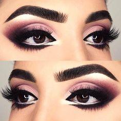 60 Ways of Applying Eyeshadow for Brown Eyes ★ Glamorous Makeup Ideas For Brown Eyes picture 2 ★ See more: http://glaminati.com/eyeshadow-for-brown-eyes/ #makeup #makeuplover #makeupjunkie