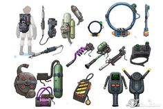 ghostbusters equipment