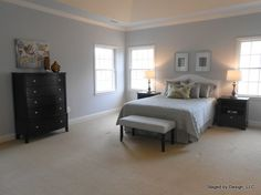 Haymarket, VA | Vacant Home Staging | Single-Family Home | Staged by Design® | www.staged-by-design.com