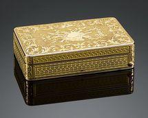 Swiss Gold Musical Snuff Box that Lord Jeremy gave Lady Caroline of WOLFSGATE