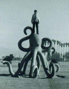 La Laguna Park, San Gabriel California, 1965, Benjamin Dominguez - Playscapes