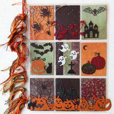 Blue Barn Creatief: Pocket Letter 'Halloween'