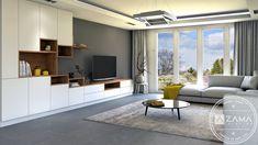 Nábytok do obývačky s množstvom úložného priestoru Custom Furniture, Furniture Ideas, Living Room, Bespoke Furniture, Home Living Room, Drawing Room, Lounge, Family Rooms, Dining Room