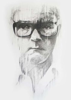 Damien Hirst, Daan Noppen Pencil Drawing Artwork