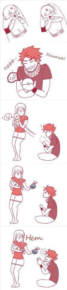 Awww! Fairy Tail Family Babies ❤️❤️❤️❤️  #AnimeIsLife ^.^