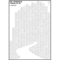 Spineless Classics The Wonderful Wizard of Oz ($46) ❤ liked on Polyvore featuring home, home decor, wall art, backgrounds, text, quote wall art, typography poster, yellow home decor, wizard of oz poster and word wall art