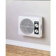 Wall Mount Bedroom Bathroom 1500 Watt Electric Space Heater