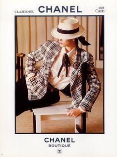 Chanel (Boutique) 1983 #vintage #fashion