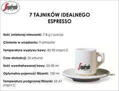Klasyczne espresso to esencja smaku i bogactwa kawowego aromatu. Oto 7 kroków do idealnego espresso by Segafredo #Segafredo #Espresso #BaristaSegafredo
