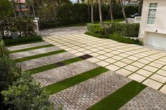 See all the ways squares can be the building blocks of eye-catching garden design