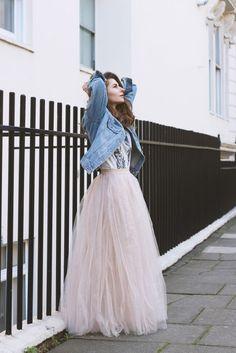 Little Mistress Maxi Tulle Rose Sparkling Skirt 129 22 20477 20160518 db7ea08c396