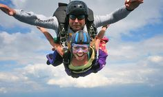 Blue Ridge Skydiving Adventures - New Market: $359 for Tandem Skydiving for Two at Blue Ridge Skydiving Adventures ($500 Value)