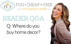 Where to buy home decor for a great deal, and other home decor money-saving tips. From FunCheapOrFree.com