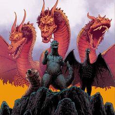 All Godzilla Monsters, Godzilla Comics, Godzilla Vs, King Kong, Monster Board, Godzilla Wallpaper, Fox Kids, Arte Cyberpunk, Dibujo