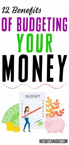 Your budget is going to stop you from constantly overspending and not doing the things you really want to do. You can really make a plan for your future and experience all of these benefits of budgeting! Sinking Funds, Budget Organization, Budget Binder, Saving For Retirement, Get Out Of Debt, Future Goals, Budgeting Money, Starting Your Own Business, Make More Money