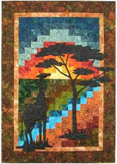 Reflections of the Serengeti I Quilt Pattern CC-502