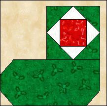Block of the Day for December 21, 2013 - Christmas Stocking #3 www.quiltpro.com