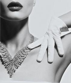 Close-Up Crystal Renn by Thomas Lagrange for Vogue Paris October 2013.
