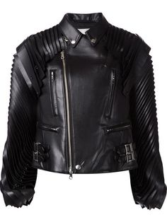 Shop Comme Des Garçons Noir Kei Ninomiya pleated biker jacket in H. Lorenzo from the world's best independent boutiques at farfetch.com. Over 1000 designers from 300 boutiques in one website.