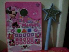 Tablet Minnie Mouse Disney Candide com Varinha