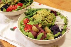 Vegan Eats & Treats!: Salad Nicoise recipe from Appetite for Reduction