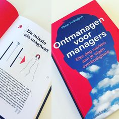 Verplicht leesvoer! Het boek 'Ontmanagen voor managers' van oud-Pantonner Thom Verheggen is uit. #ontmanagenvoormanagers #panton #verandermanagement #organisatie by panton_designstudio
