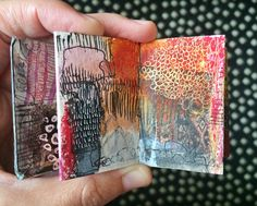 mini journal #4 - by bun blog - artist: Roxanne Coble