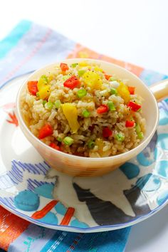 Recipe: Gingered Pineapple Brown Rice - http://nevadapain.com/inside-pain/recipe-gingered-pineapple-brown-rice/ #pain #painmanagement