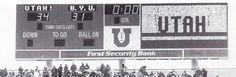 The Greatest Utah Football Games Ever: #11: November 19, 1994 - Utah vs. BYU