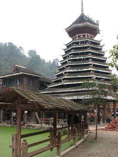 Zhaoxing, Guizhou, China