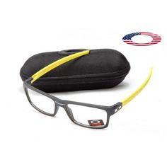 $13 - Knock off mens Oakley sunglasses currency island yellow / clear iridium