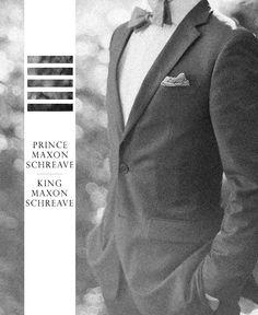King Maxon Schreave<3