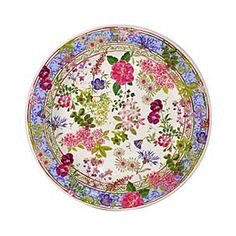 Gien 'Millefleurs' Canape Plate