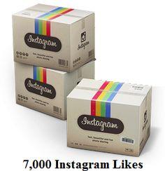 7,000 Instagram Likes