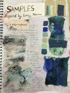 Samples inspired by Emily Notman. Emma