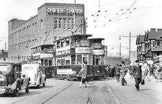 Owen Owen and Trinity Street, 1939