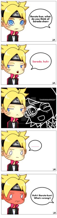Boruto x Sarada? by Hidden-Rabbit.deviantart.com on @DeviantArt