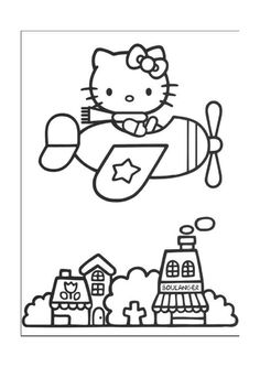 Disegni da colorare Hello Kitty 30