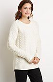 plus size Aran cable pullover sweater from J.Jill (I prefer oversized, so 3x or even 4x please - probably 3x)