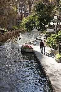 San Antonio TX. The river walk