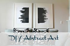 DIY Abstract Art - Shannon Claire