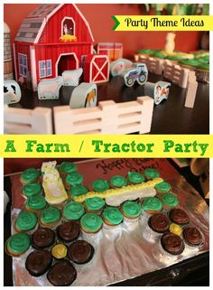 Themed birthday parties have become my micro-hobby of sorts. For our son's first birthday we did a car party theme. For his second, we did a train party theme. For our son turning three, I wanted to do something with animals, but I knew he'd want vehicles, so I did a farm / tractor combo […]