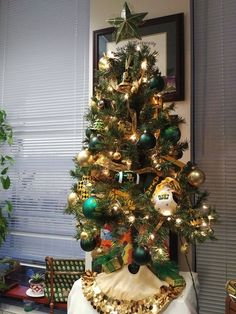 Have a mini Christmas tree dedicated to Baylor in your home or office!