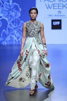 Garo at Lakmé Fashion Week summer/resort 2016   Vogue India   Fashion   Fashion Shows