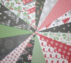 Christmas Scrapbook Paper Holiday Scrapbook by ScrappinTagsAndMore