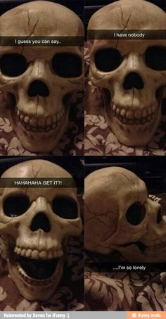 Funny pictures about Skeleton's Sad Sense Of Humor. Oh, and cool pics about Skeleton's Sad Sense Of Humor. Also, Skeleton's Sad Sense Of Humor photos. Memes Humor, Dad Humor, Dad Jokes, Funny Humor, Puns Jokes, Life Humor, 2 Chainz, Funny Relatable Memes, Funny Tweets