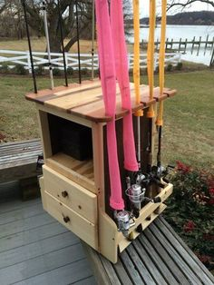 Fishing Rod Holders - Deciding On The Best Bass Fishing Equipment Bank Fishing Rod Holders, Fishing Rod Rack, Pole Holders, Fly Fishing Rods, Fishing Reels, Fishing Tips, Bass Fishing, Fishing Stuff, Fishing Tackle