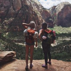 Hiking buddies are essential for pep talks, photo ops, and plenty of laughter. Don't leave home without one. #TevaUpgrade