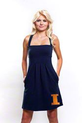 Illinois Fighting Illini Womens Navy Pleated Dress with Pockets $35.99 http://www.fansedge.com/Illinois-Fighting-Illini-Womens-Navy-Pleated-Dress-with-Pockets-_1433013407_PD.html?social=pinterest_pfid52-03631